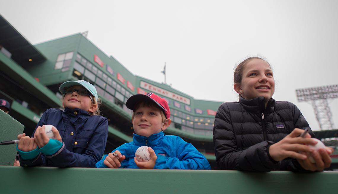 Estadios de béisbol emblemáticos de Estados Unidos - Fenway Park, Boston