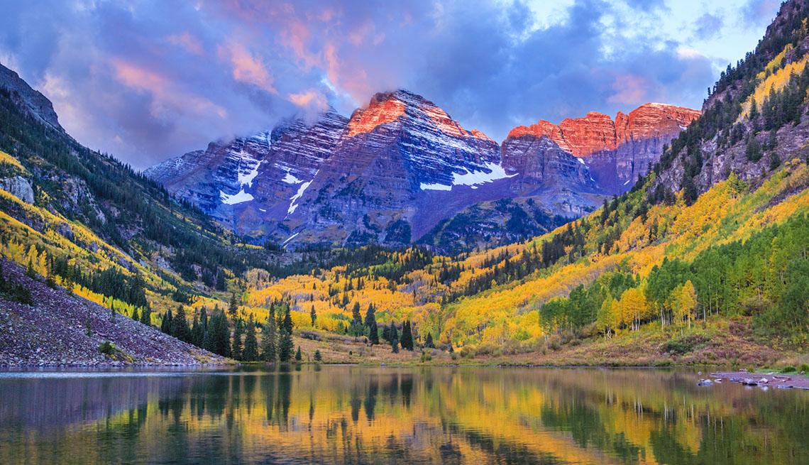 Montañas asombrosas en Estados Unidos
