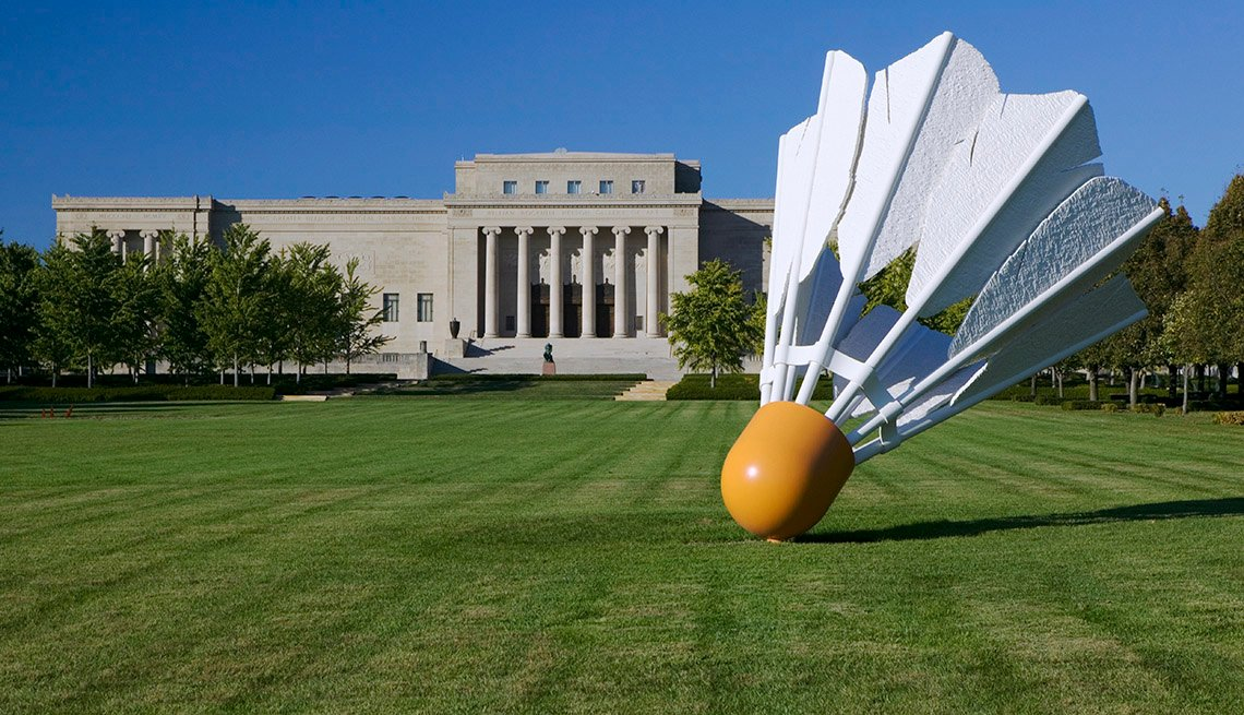 'Volantes', Nelson-Atkins Museum of Art, Kansas City, Montana