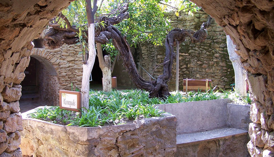 Los Jardines subterráneos de Forestiere, Fresno, California