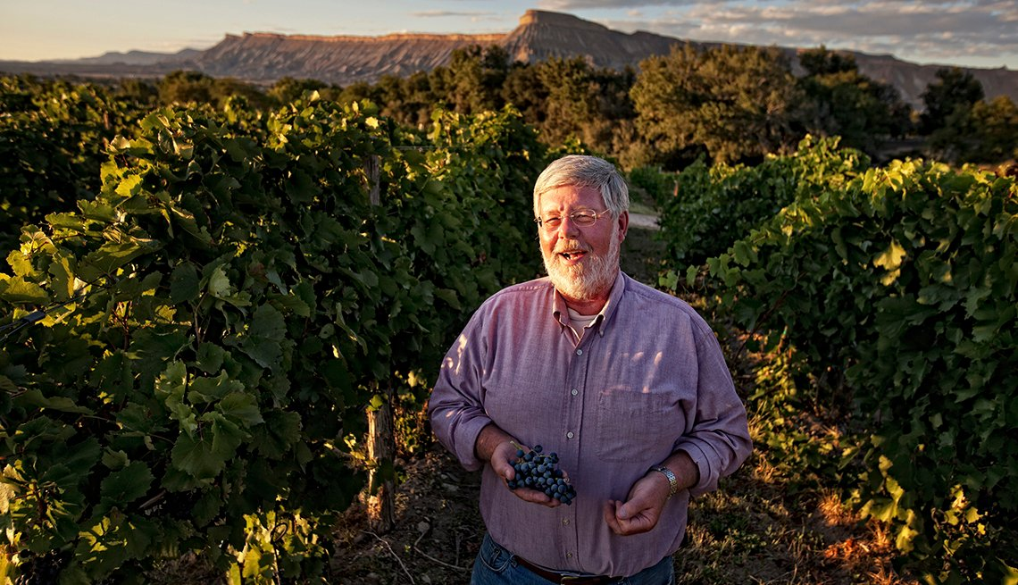 Parker Carlson, Palisade, Colorado, Visit These Wineries Outside California