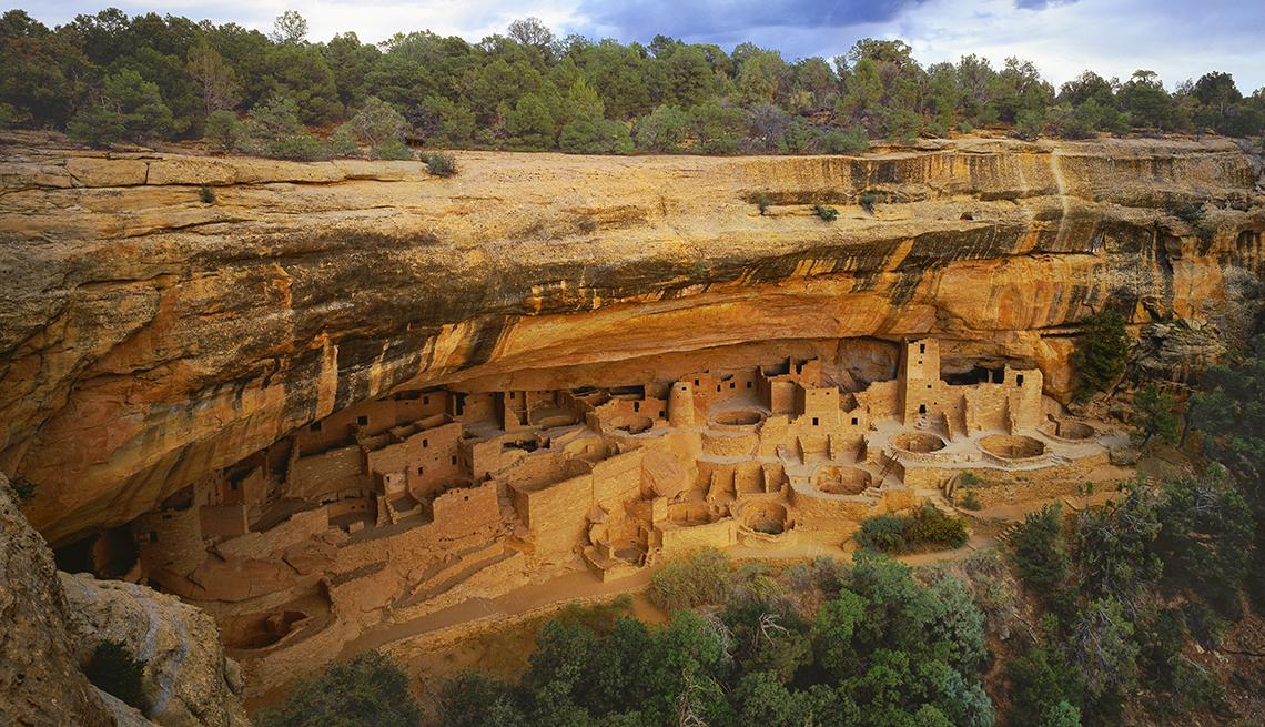 Cliff Palace, Mesa Verde, Colorado - Edificios incomparables en Estados Unidos