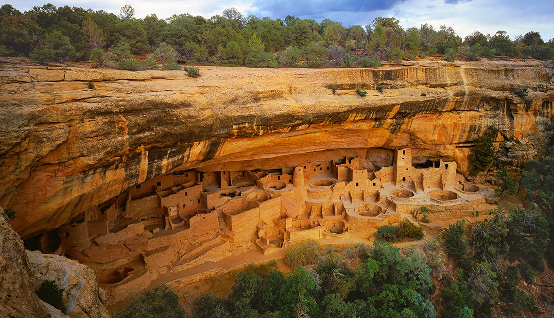 Cliff Palace, Mesa Verde, Colorado - Edificios incomparables en Estados Unidos