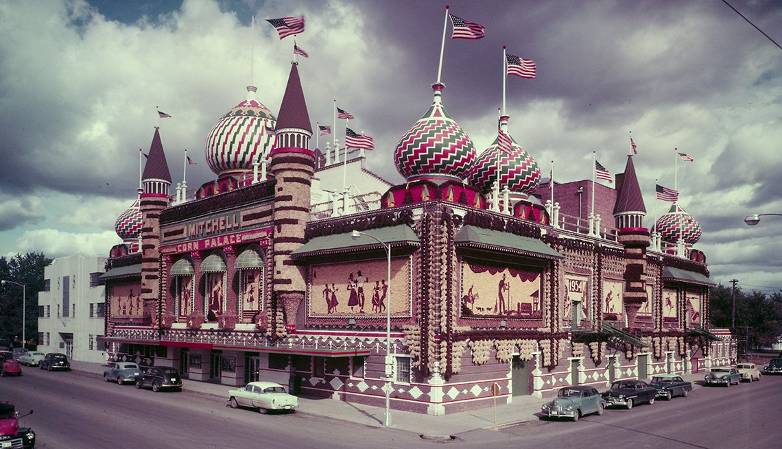 Corn Palace - Edificios incomparables en Estados Unidos