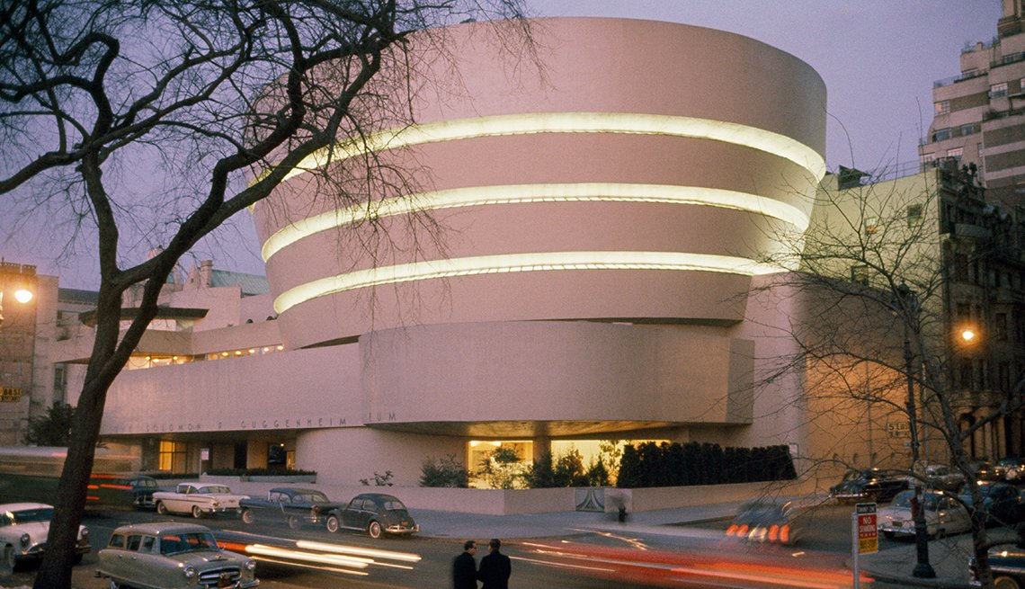 Guggenheim Museum - Edificios incomparables en Estados Unidos