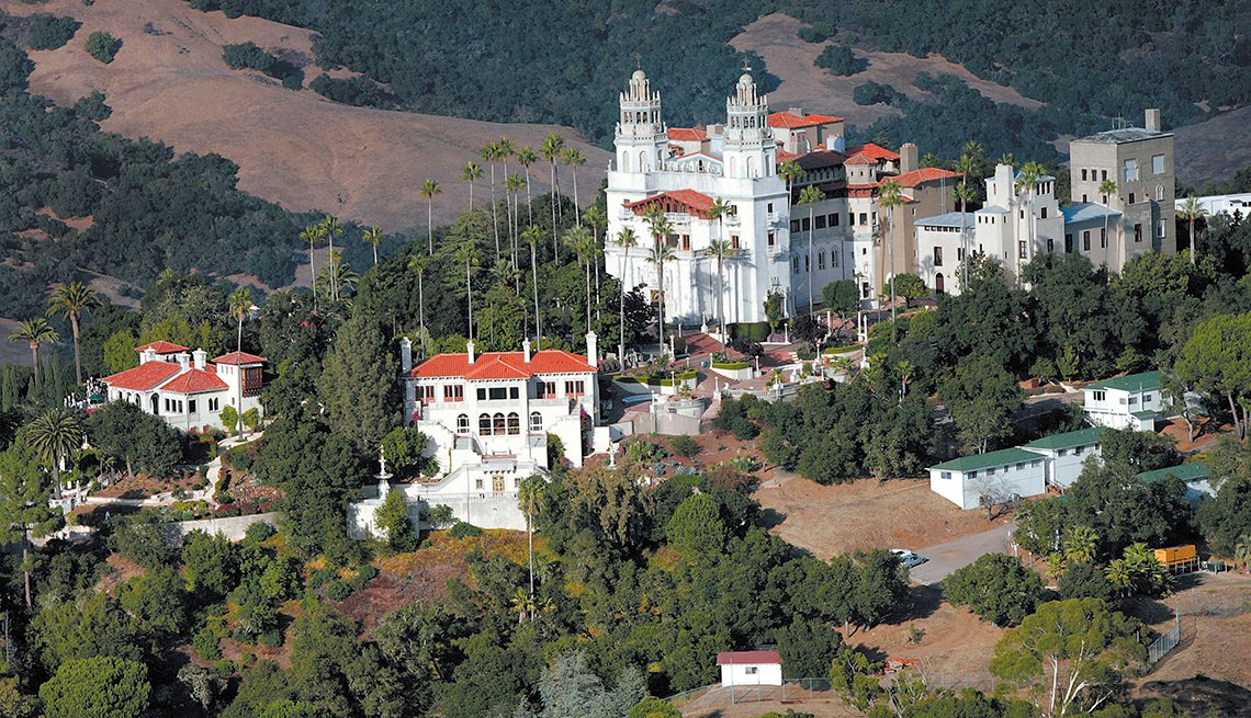 Hearst Castle - Edificios incomparables en Estados Unidos