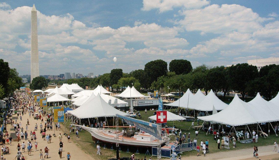 Washington: Una vuelta al mundo en una sola ciudad - Folk Life Festival