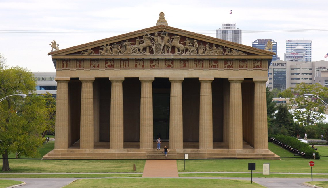The Parthenon, Nashville - Edificios incomparables en Estados Unidos