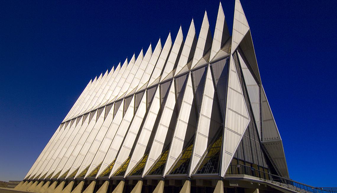Air Force Academy Chapel - Edificios incomparables en Estados Unidos