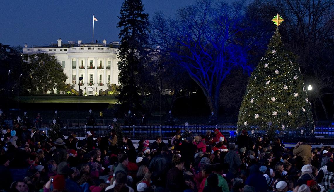 item 2 of Gallery image - Árbol de Navidad Nacional, cerca de la Casa Blanca.