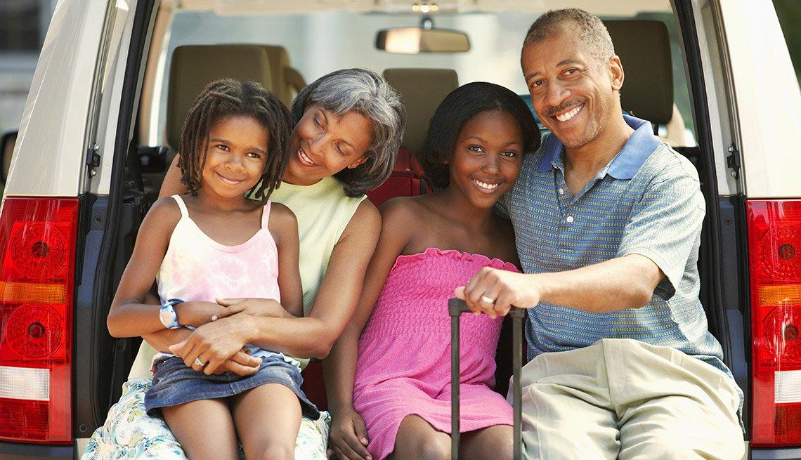 Guía para viajar con los nietos