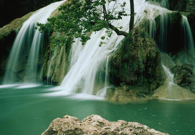 Turner Falls in Oklahoma