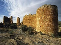 Pueblo Village Ruins of the Hovenweep Castle in Hovenweep National Monument, Utah - Underrated tourist attraction