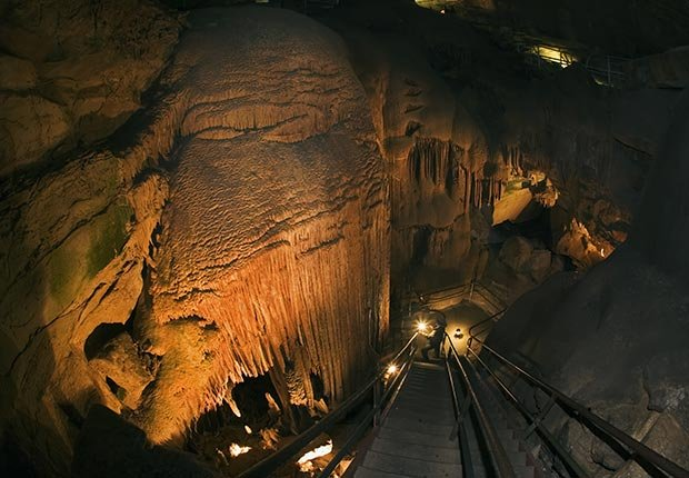 10 Maravillas Naturales de América - Caverna Mammoth, Kentucky