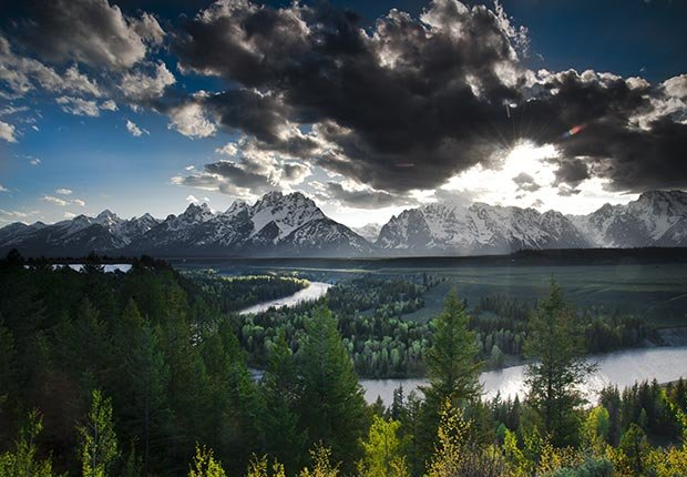 10 Maravillas Naturales de América - Teton Range, Wyoming