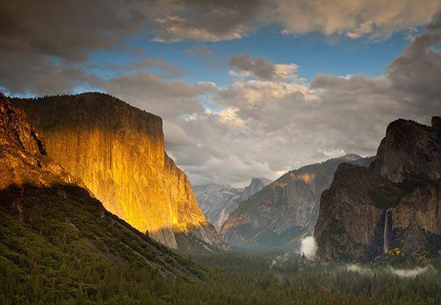10 Maravillas Naturales de América - Monte El Capitán en el parque Yosemite, California