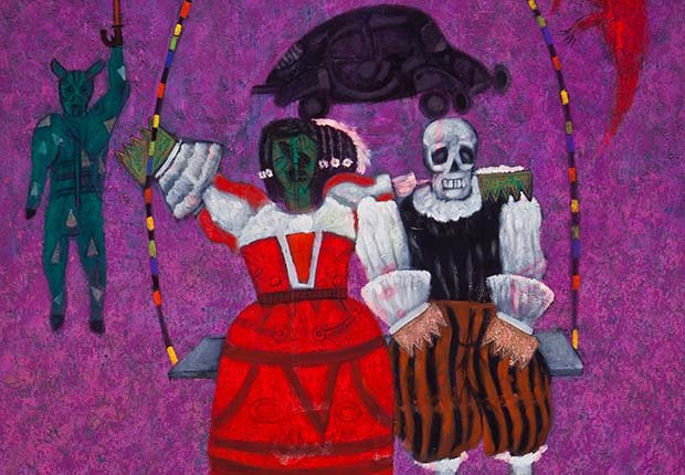 The Swing by Alejandro Nava, The National Museum of Mexican Art