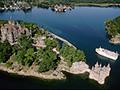Boldt Castle, Heart Island, Thousand Islands, NY, 10 castillos para visitar en América