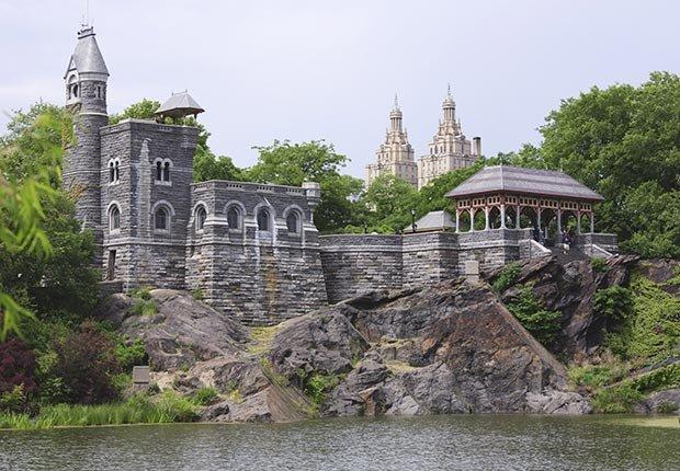 Castillo Belvedere, Central Park, N.Y. - 10 castillos para visitar en América