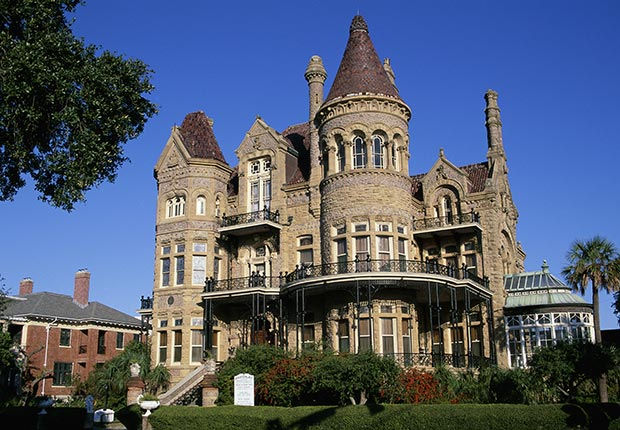 Bishop's Palace, Galveston, TX, 10 Castles to Visit in America