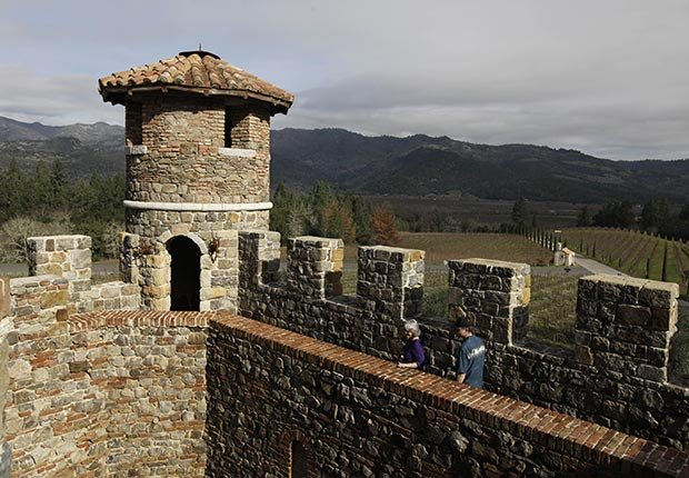 Castello di Amorosa, Calistoga, Calif. - 10 castillos para visitar en América