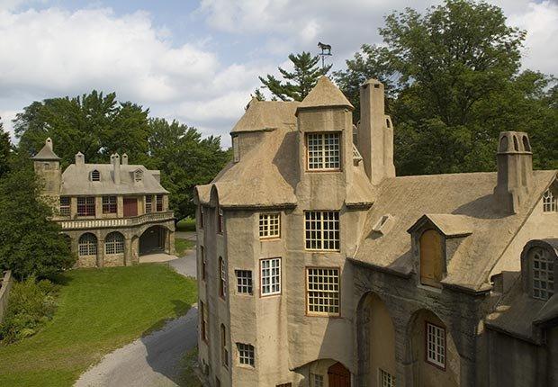 Castillo Fonthill, Doylestown, Pa. - 10 castillos para visitar en América