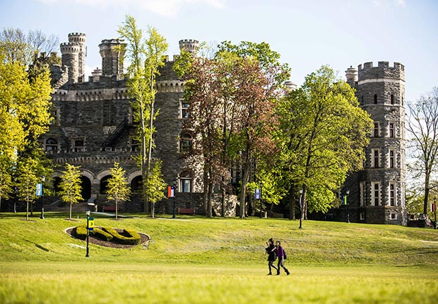 Grey Towers Castle, Arcadia University, Glenside, PA, 10 Castles to Visit in America
