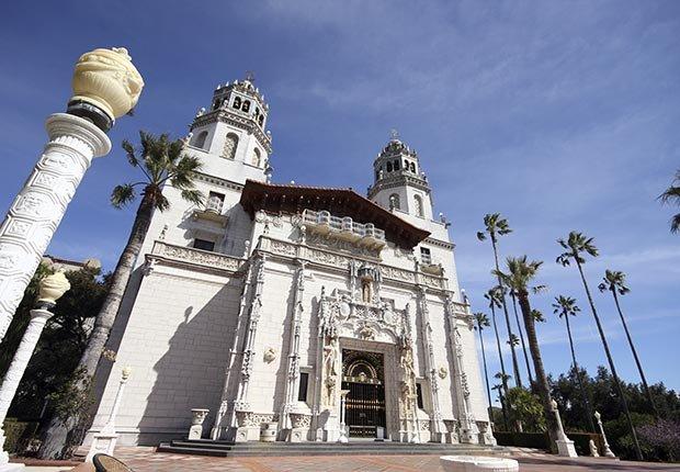 Castillo Hearst, San Simeon, Calif. - 10 castillos para visitar en América