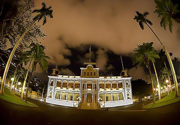Palacio Iolani, Honolulu - 10 castillos para visitar en América