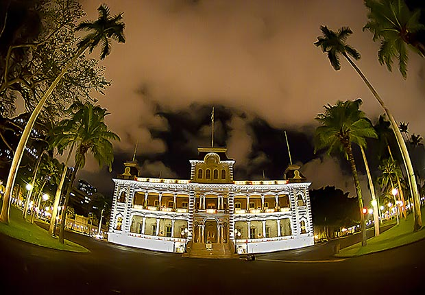 Iolani Palace, Honolulu, HI, 10 Castles to Visit in America