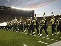 University of Michigan marching band in Michigan Stadium, Frommer's top five football stadiums