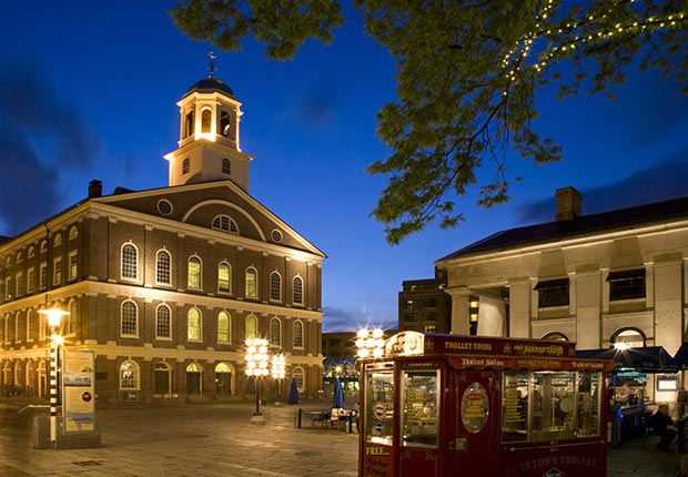 Faneuil Hall, Boston, Massachusetts, Freedom Trail