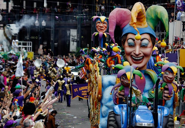 Mardi Gras - Las 10 Cosas gratis que hacer en América