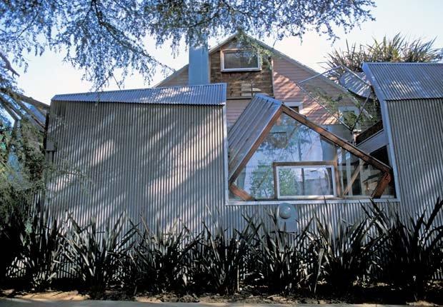 Frank Gehry House es fotografiado en Los Angeles, CA.