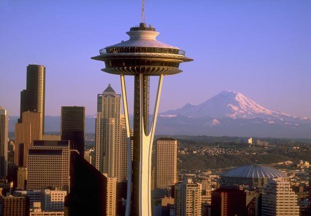 America bizarre buildings power of 50 Space Needle Seattle