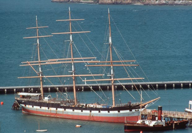 Barbary Coast Hyde Street Pier San Francisco California balclutha