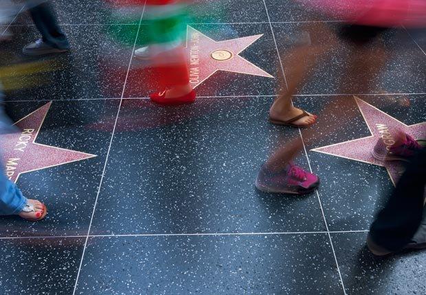 Hollywood Boulevard - Paseos históricos y senderos en los Estados Unidos