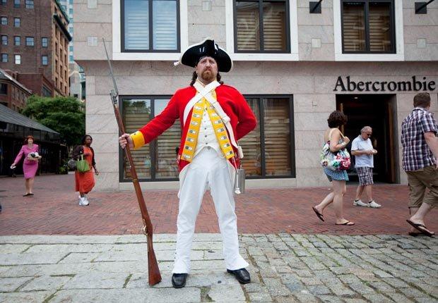 Caminata histórica en Boston - Paseos históricos y senderos en los Estados Unidos