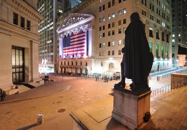 Wall Street New York City - Paseos históricos y senderos en los Estados Unidos