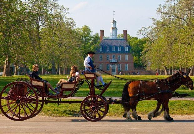 Colonial Williamsburg Virginia - Paseos históricos y senderos en los Estados Unidos