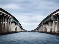 Puente sobre Atchafalaya Basin, Louisiana - las 9 mejores rutas a través de Estados Unidos