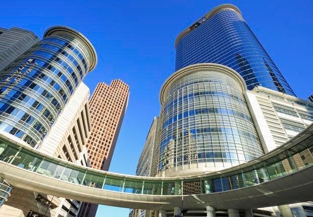 Arquitectura en el centro de Houston, Texas - Principales ciudades de Estados Unidos para visitar en el 2013
