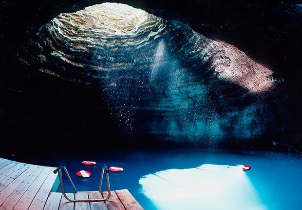 Homestead Crater, Midway, Utah - Frommers extraños lugares para visitar en América.