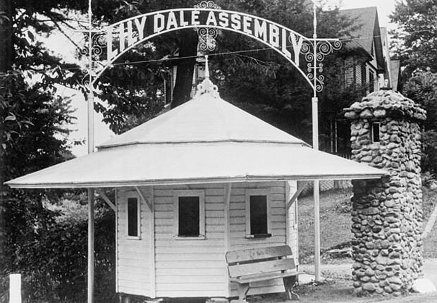 Lily Dale Assembly, cerca de Buffalo, New York - Frommers extraños lugares para visitar en América.