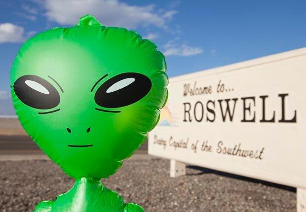 Roswell, Nuevo Mexico - Frommers extraños lugares para visitar en América.