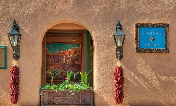 Hotel Inn of the Five Graces, Santa Fe, Nuevo México