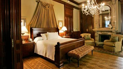 La Suite Presidencial en la Mansión Wentworth en Charleston, Frommers: los hoteles pequeños más encantadores de América