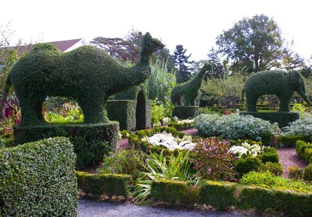 Jardin de animales en Portsmouth Rhode Island - 10 Hermosos jardines en América