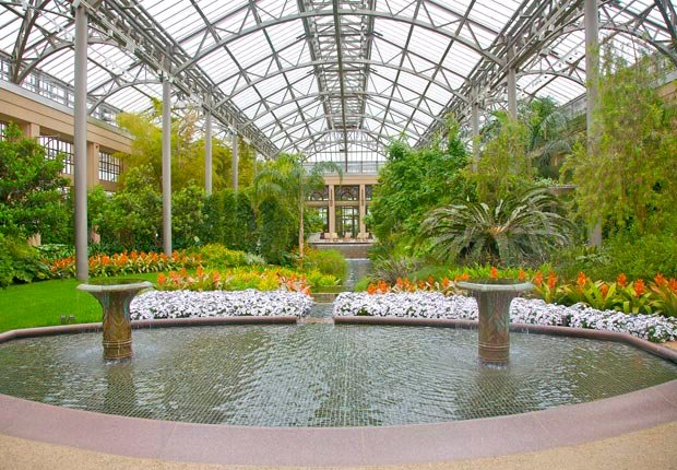 Jardines Longwood en Kennett Square, Pennsylvania - 10 Hermosos jardines en América