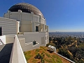 Los Angeles, Griffith Park, Griffith Observatory and cityscape